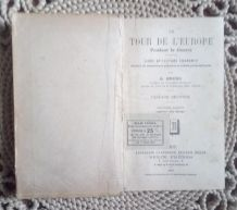 L e tour de l'Europe pendant la guerre par G.Bruno - 1922