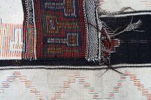 Tapis ancien Marocain Berber fait main, 1P80