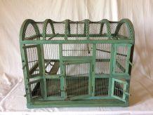 grande cage à oiseaux ancienne