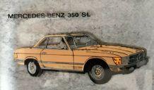 Vide Poche Publicité MERCEDES-BENZ 350 SL (Mercedes Benz 62