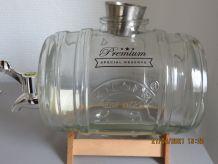 Tonneau 1L pour conservation alcool