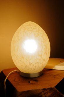 Lampe oeuf vintage Domec