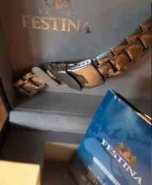 Montre Festina deux bracelets