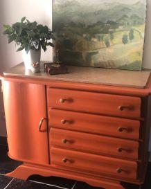 Commode vintage Terracotta