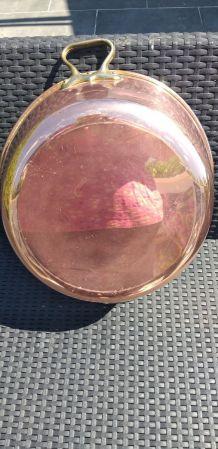 Bassine à confiture en cuivre alimentaire jamais utilisée