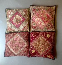4 Coussins Indiens