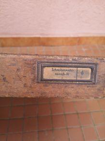 Tiroir ancien meuble typographe