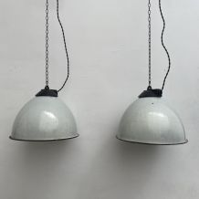 LOT 2 SUSPENSION INDUSTRIELLES POLONAISE 31 cm
