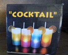 """Lampe décorative """"Cocktail"""" multicolore """"80"""""""