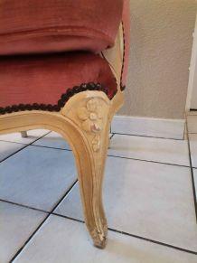 fauteuil bergère style louis 16