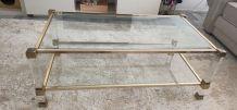 Table basse pierre vandel