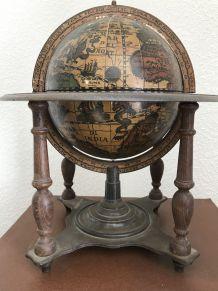 Globe terrestre bar vintage