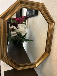 Très beau miroir octogonale