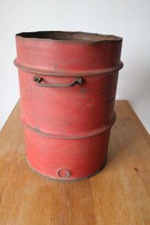 Fût bidon 60 litres années 50