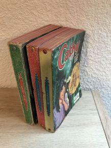 """Lot de 3 livres """" Cathy """" anciens"""