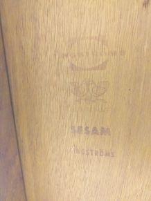 Table basse scandinave modulable teck années 60 vintage