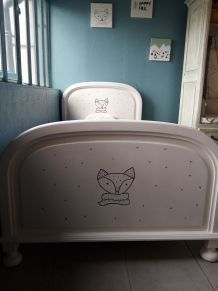 Bois de lit Renard pour enfant