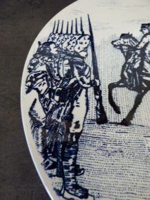 Gra. Assiette commémorative IENA Napoléon
