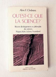 Présentation qu'est-ce que la science ?