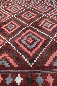 Tapis vintage Afghan fait main, 1P86