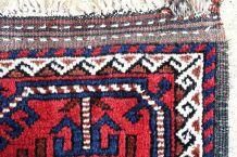 Tapis ancien Afghan Baluch fait main, 1P91