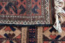 Tapis ancien Afghan Baluch fait main, 1P92