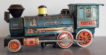 Locomotive vintage Western