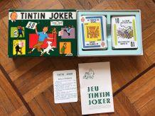 Jeu Tintin Joker années 60