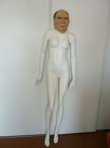 masque année 60 François Mitterrand