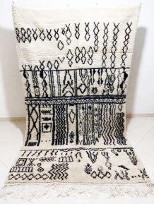 230x135cm Tapis berbere marocain azilal