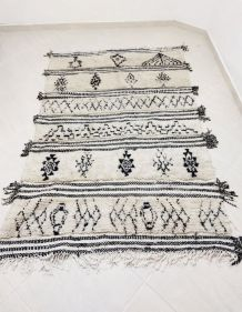 222x147cm Tapis berbere marocain azilal