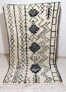 210x127cm Tapis Berbere marocain azilal