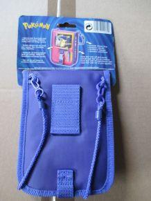 sacoche Pokémon voilet pour Game Boy Color