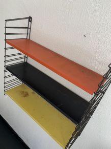 Etagère tomado vintage 1950 design A.Dekker - 70 x 68 cm