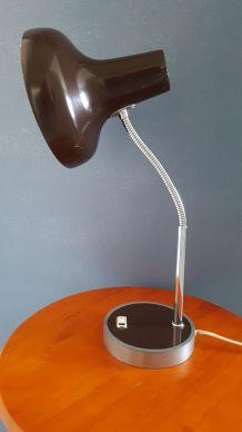 Lampe marron vintage