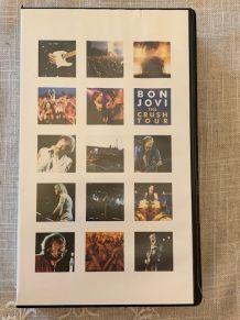 VHS Bon Jovi The Crush Tour 2000