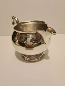 Pot à lait métal argenté MR Silver Plated Style Rocaille