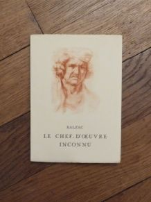 Le Chef d'Oeuvre Inconnu- Balzac- Collection Labyrinthe
