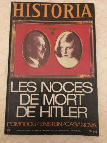 Historia n° 341 Hitler et Eva Braun 1975
