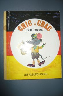 Cric et Crac en Allemagne Albums Roses 1973