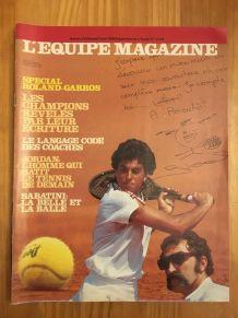 L'Equipe Magazine Roland Garros n° 412 3 juin 1989