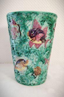 Vase en Céramique signé Cérart de Monaco