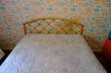 Tête de lit rotin 2 personnes