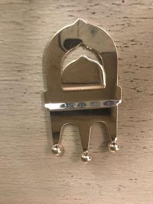 Porte-couverts Métal argenté