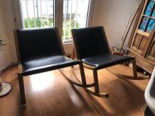 Fauteuils à bascule / rocking-chairs