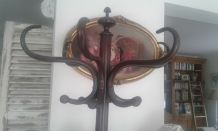 Porte manteau perroquet bistrot ancien