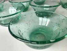 Set de 8 Coupelles en Verre Biot - Farinelli - Couleur Vert
