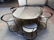 Ensemble table et 6 chaises - Pol Quadens