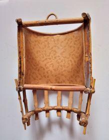 Aplique en bambou vintage
