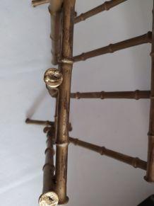 Porte-revue en faux bambou